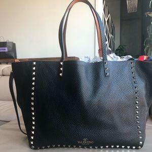 Valentino rockstud reversible purse